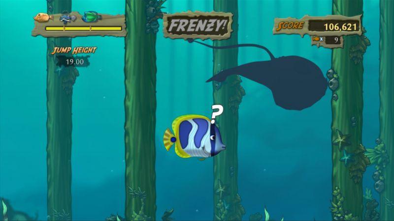 При использовании кадров из игры Feeding Frenzy 2: Shipwreck Showdown ссылк