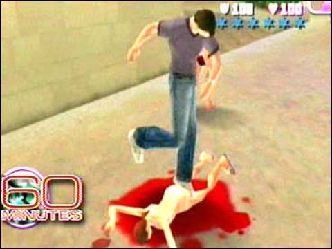 violent video games in society 53 percent that is the number received from all adults included in a survey asking their thoughts on whether they thought children got more or less violent after.